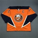 Peca, Michael *<br>Third w/C <br>New York Islanders 2002-03<br>#27 Size: 56
