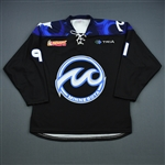 Schmid, Haylea<br>Black Set 1<br>Minnesota Whitecaps 2018-19<br>#91 Size: LG