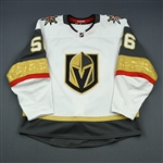 Haula, Erik<br>White Set 1 (A removed)<br>Vegas Golden Knights 2018-19<br>#56 Size: 56