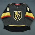 Marchessault, Jonathan <br>Gray Set 2 <br>Vegas Golden Knights 2018-19<br>#81 Size: 54