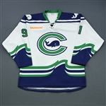 Adams, Tess<br>White Set 2 / Playoffs<br>Connecticut Whale 2018-19<br>#91 Size: XL