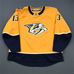 Bonino, Nick<br>Gold Set 1 <br>Nashville Predators 2018-19<br>#13 Size: 58