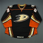 Karlsson, William *<br>Black - Set 1 - Photo-Matched<br>Anaheim Ducks 2014-15<br>#38 Size: 56