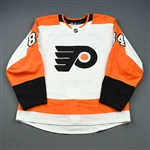Balmas, Mitchell<br>White Set 1 - Training Camp Only<br>Philadelphia Flyers 2018-19<br>#84 Size: 54