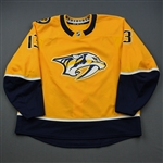 Bonino, Nick<br>Gold Set 3 / Playoffs<br>Nashville Predators 2018-19<br>#13 Size: 58