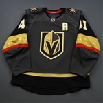 Bellemare, Pierre-Edouard <br>Gray Stanley Cup Playoffs w/A<br>Vegas Golden Knights 2018-19<br>#41 Size: 54