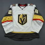 Carrier, William<br>White Stanley Cup Playoffs<br>Vegas Golden Knights 2018-19<br>#28 Size: 56