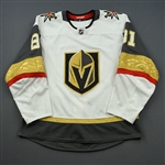 Marchessault, Jonathan<br>White Set 3 - 200th Career Point<br>Vegas Golden Knights 2018-19<br>#81 Size: 54