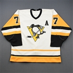 Coffey, Paul<br>White Set 1<br>Pittsburgh Penguins 1988-89<br>#77