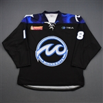 Schlagel, Amy<br>Black Set 1<br>Minnesota Whitecaps 2018-19<br>#18 Size: LG