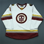 Miromanov, Daniil<br>MARVEL Star Lord Game-Worn Jersey w/Socks - December 15, 2018 at Adirondack Thunder<br>Columbus Blue Jackets 2018-19<br>#3 Size: 56