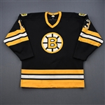 Linseman, Ken *<br>Black <br>Boston Bruins 1986-87<br>#13 Size: 56