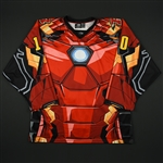 Walker, Jack<br>Red-Iron Man Jersey - Game-Issued<br>Rapid City Rush 2017-18<br>10 Size: 54