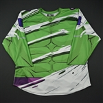 Blank<br>Green - Hulk Jersey - Game-Issued<br>Reading Royals 2017-18<br>6 Size: 56