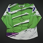 Naclerio, Mark<br>Green - Hulk Jersey - Autographed<br>Reading Royals 2017-18<br>#27 Size: 56