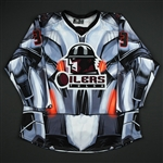 Richardson, Evan<br>Black Ultron Jersey - Autographed - First Period Only<br>Tulsa Oilers 2017-18<br>#33 Size: 54