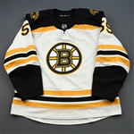 Bakos, Martin<br>White Set 1 - Preseason Only<br>Boston Bruins 2018-19<br>#59 Size: 56