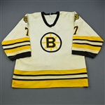Bourque, Ray *<br>White<br>Boston Bruins 1983-84<br>#7