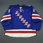 Klein, Kevin *<br>Blue- Stanley Cup Final - Photo-Matched to Game 3<br>New York Rangers 2013-14<br>#8 Size: 56