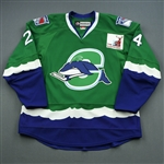 DiDiomete, Devin *<br>Green Set 2<br>Connecticut Whale 2010-11<br>#24 Size: 56
