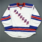 Prust, Brandon<br>White Eastern Conference Finals<br>New York Rangers 2011-12<br>#8 Size: 56