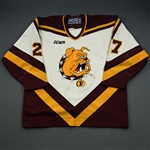 Lewandowski, Phil *<br>White<br>Ferris State Bulldogs 1999-2002<br>#27 Size: 54