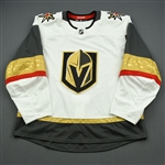 Blank - No Name or Number<br>White - (Adidas adizero) - CLEARANCE<br>Vegas Golden Knights <br> Size: 56