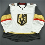 Blank - No Name or Number<br>White - (Adidas adizero) - CLEARANCE<br>Vegas Golden Knights <br> Size: 58