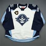 Tolvanen, Eeli *<br>White - Photo-Matched<br>Milwaukee Admirals 2018-19<br>#11 Size: 56