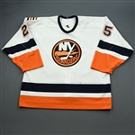 Karpovtsev, Alexander *<br>White 3rd Regular Season<br>New York Islanders 2003-04<br>#25 Size: 56