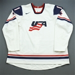 Hoeffel, Mike *<br>White World Junior Championship<br>Team USA 2009<br>#11 Size: 62