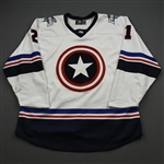 Gluchowski, Nolan<br>MARVEL Captain America w/Socks - Worn January 20, 2020 @ Utah Grizzlies<br>Idaho Steelheads 2019-20<br>#21 Size: 56