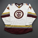 Donaghey, Cody<br>MARVEL Star Lord w/Socks - Worn March 6, 2020 @ Atlanta Gladiators <br>Orlando Solar Bears 2019-20<br>#44 Size: 56