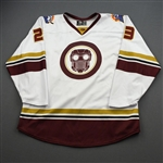 Hanlon, Danny<br>MARVEL Star Lord w/Socks - Worn March 6, 2020 @ Atlanta Gladiators <br>Orlando Solar Bears 2019-20<br>#23 Size: 56