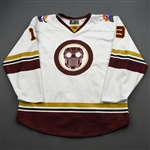 Kozun, Tad<br>MARVEL Star Lord w/Socks - Worn March 6, 2020 @ Atlanta Gladiators <br>Orlando Solar Bears 2019-20<br>#13 Size: 56