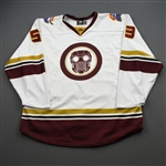 Shalagin, Mikhail<br>MARVEL Star Lord (Game-Issued) - March 6, 2020 @ Atlanta Gladiators <br>Orlando Solar Bears 2019-20<br>#53 Size: 56