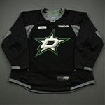 Cracknell, Adam<br>Black Practice Jersey w/ UT Southwestern Medical Center Patch - CLEARANCE<br>Dallas Stars <br>#27 Size: 58