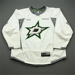 Davis, Brett<br>White Practice Jersey w/ UT Southwestern Medical Center Patch - CLEARANCE<br>Dallas Stars <br>#60 Size: 58