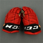 Anderson, Joey<br>CCM Gloves<br>New Jersey Devils 2019-20<br> Size: 14""
