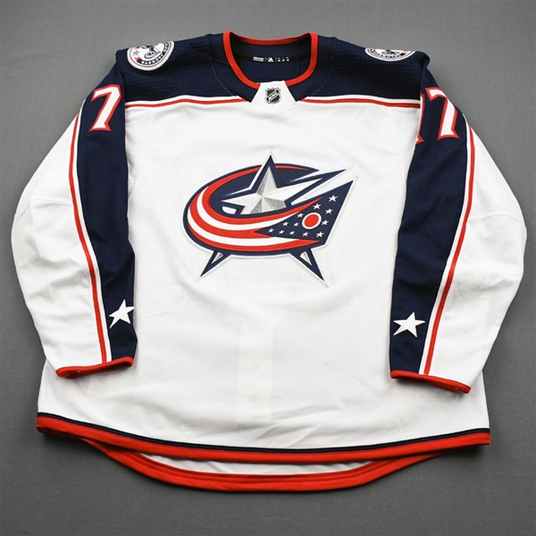 Anderson, Josh<br>White Set 2<br>Columbus Blue Jackets 2019-20<br>#77 Size: 58