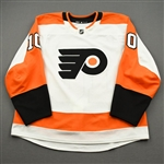 Andreoff, Andy<br>White Set 3 - Game-Issued (GI)<br>Philadelphia Flyers 2019-20<br>#10 Size: 56