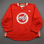 Barrow, Ryan<br>Red Practice Jersey - CLEARANCE<br>Washington Capitals <br>#94 Size: 56