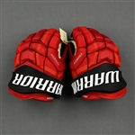 Anderson, Joey<br>Warrior Covert Gloves<br>New Jersey Devils <br># Size: 15""