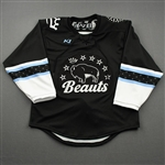 Blank, No Name Or Number<br>Black - CLEARANCE<br>Buffalo Beauts 2020-21<br> Size:  SM