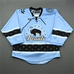 Blank, No Name Or Number<br>Blue - CLEARANCE<br>Buffalo Beauts 2020-21<br> Size:  MD